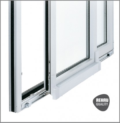 Scorrevoli traslante rehau galileo windows - Finestre in pvc rehau ...